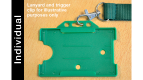 ID Card Holder Green (Individual)